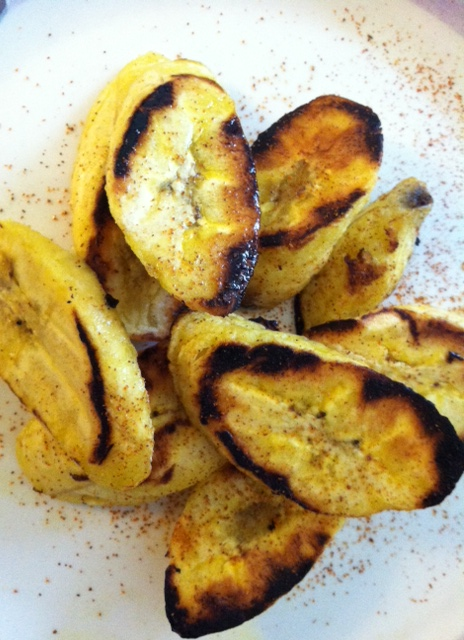 Plantains with cayenne